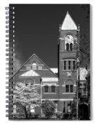 The Monongalia County Courthouse - Morgantown West Virginia Spiral Notebook