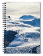 The Monte Rosa Glacier In Switzerland Spiral Notebook
