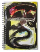 The Moon Compassionate Spiral Notebook