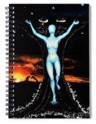 The Moon Goddess Spiral Notebook