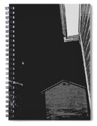 The Moon Is A Lonely Hunter Spiral Notebook