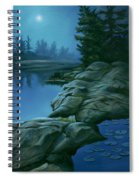 The Moonlight Hour Spiral Notebook
