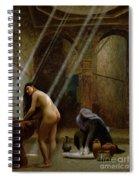 The Moorish Bath Spiral Notebook