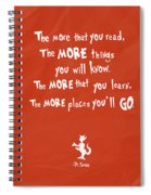 The More You Read Spiral Notebook
