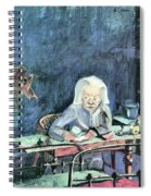 The Mother Of Sonia Gramatte By Walter Gramatte Spiral Notebook