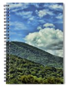 The Mountain Meets The Sky Spiral Notebook