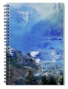 The Mountains Melting Snows Spiral Notebook