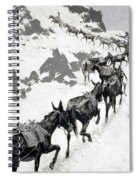 The Mule Pack Spiral Notebook