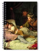 The Murder Of The Sons Of Edward Iv Spiral Notebook