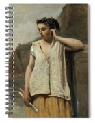 The Muse. History Spiral Notebook
