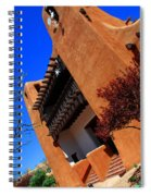 The Museum Of Art In Santa Fe Spiral Notebook