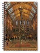 The Museum Of Natural History... London Spiral Notebook