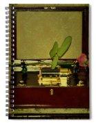 The Music Box Spiral Notebook