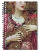 The Music Faintly Falling Dies Away Spiral Notebook