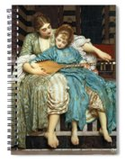 The Music Lesson Spiral Notebook