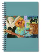 The Musician, The Big Easy Spiral Notebook