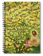 The Mustard Seed Spiral Notebook