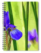 The Mystery Of Spring - Paint Spiral Notebook