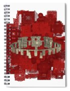 The Mystery Of Stonehenge Spiral Notebook