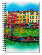 The Mystique Of Italy Spiral Notebook