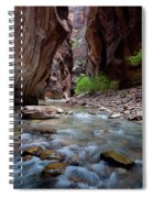 The Narrows, Zion National Park, Utah Spiral Notebook