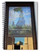 The National Gallery Of Art Is 75 Years Old Spiral Notebook