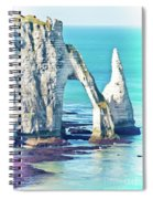 The Needle Of Etretat Spiral Notebook