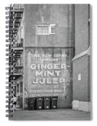 The New Drink Monochrome Spiral Notebook