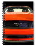 The New Mustang Spiral Notebook
