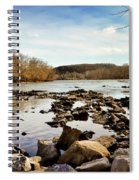 The New River At Whitt Riverbend Park - Giles County Virginia Spiral Notebook