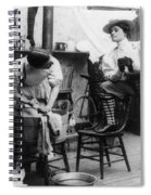 The New Woman, C1897 Spiral Notebook