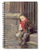 The News Boy Spiral Notebook