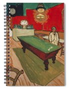 The Night Cafe In Arles Spiral Notebook