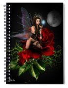 The Night Fairy Spiral Notebook