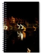 The Night Race Spiral Notebook