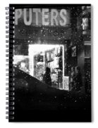 The Night Side Of Town - New York Spiral Notebook