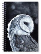 The Night Watcher Spiral Notebook