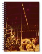 The Nightmare Carousel 12 Spiral Notebook