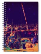 The Nightmare Carousel 22 Spiral Notebook