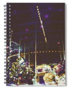 The Nightmare Carousel 8 Spiral Notebook