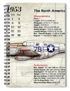 The North American P-51 Mustang V1 Spiral Notebook