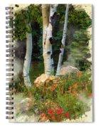 The North Rim Forest Spiral Notebook