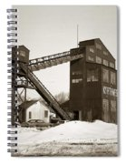 The Northwest Coal Company Breaker Eynon Pennsylvania 1971 Spiral Notebook