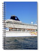 The Norwegian Sun Is Leaving Spiral Notebook
