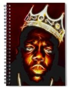 The Notorious B.i.g. - Biggie Smalls Spiral Notebook