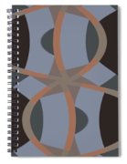 The Number Eight  Spiral Notebook