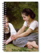 The Nut Gatherers Spiral Notebook