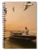 The Oarsman Spiral Notebook