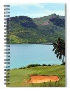 The Ocean Course At Hokuala In Kauai Spiral Notebook