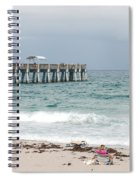 The Ocean Pier Spiral Notebook